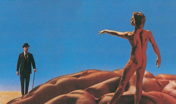 Rush Hemispheres Album cover