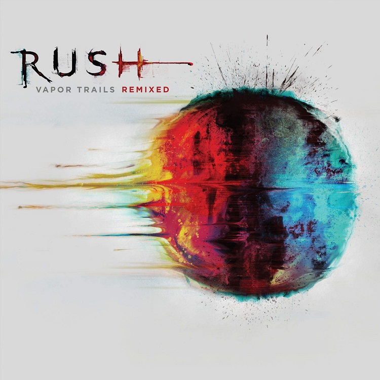 Rush Vapor Trails Remixed album art