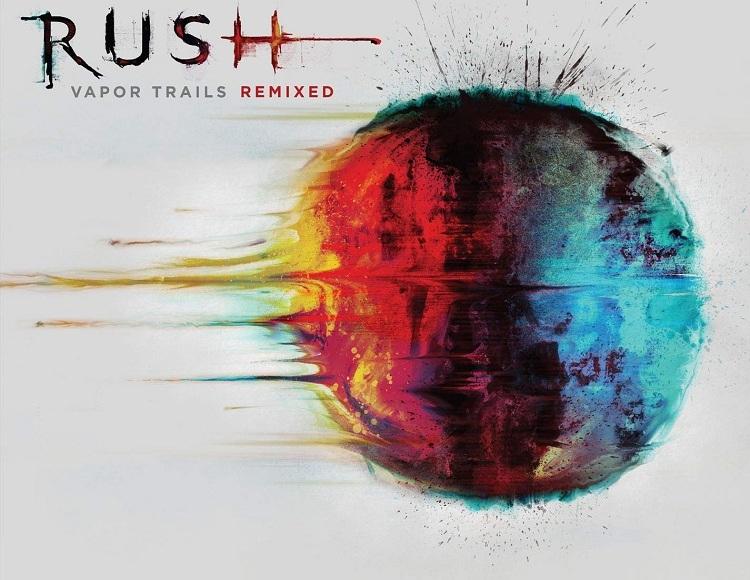 Rush Vapor Trails Remixed album art