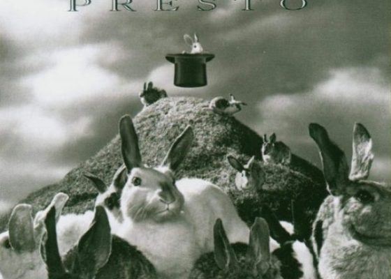 Rush Presto album art