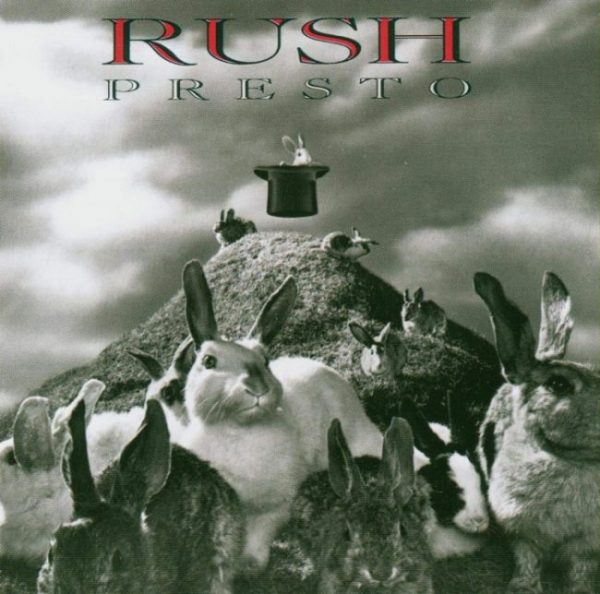 Rush Presto album art