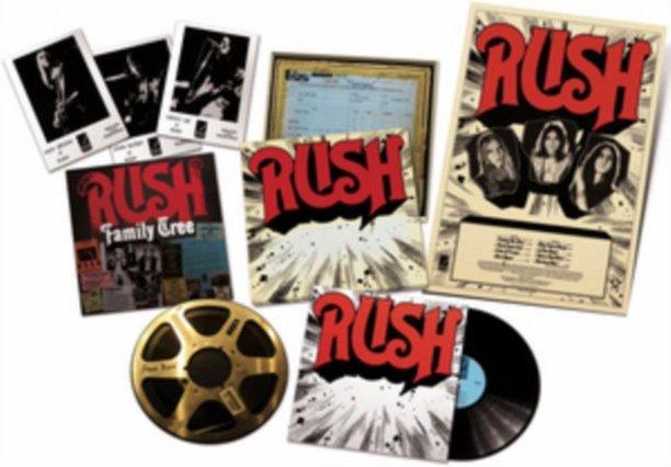 Rush Rediscovered first album release artwork