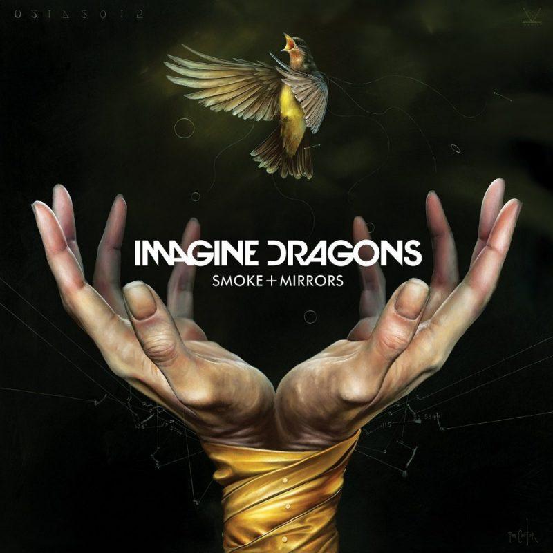 Imagine Dragons Smoke and Mirrors album artwork