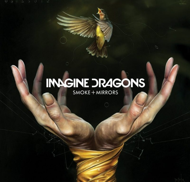 Imagine Dragons Smoke and Mirrors album artwork