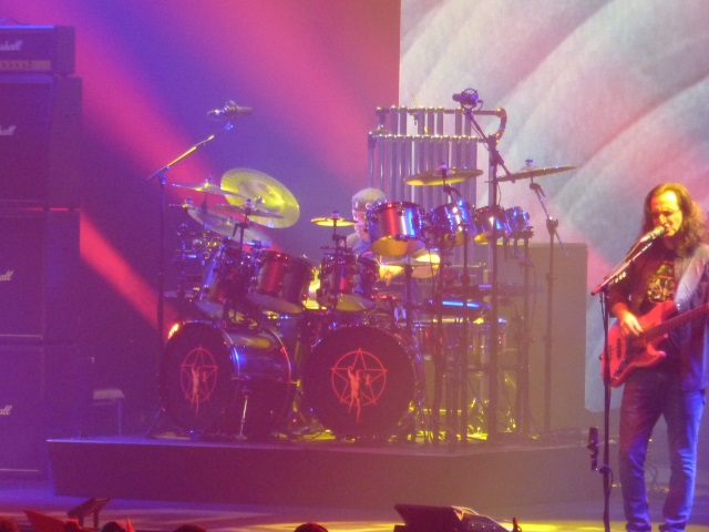 Geddy Lee and Neil Peart