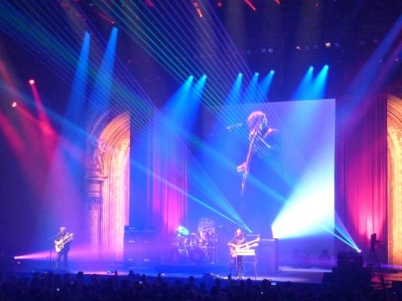 Rush R40 Tour Tulsa Lasers