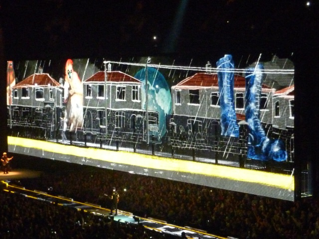 U2 Big Screen