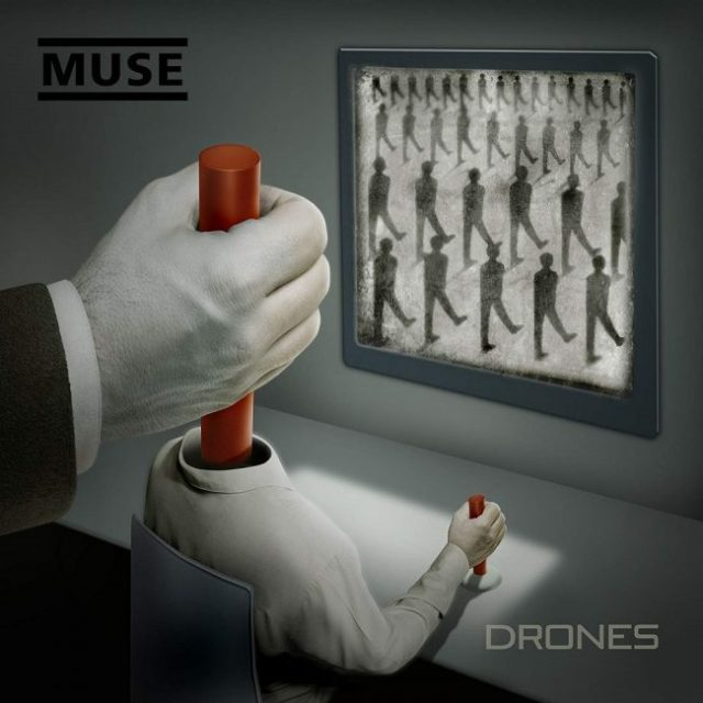 Muse Drones Album artwork