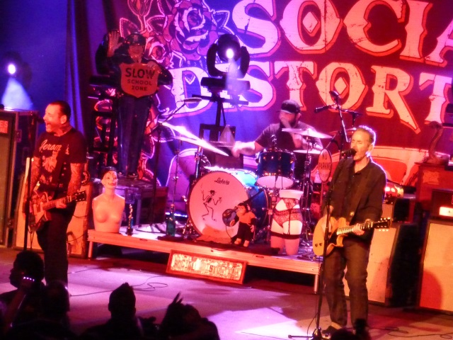 Social Distortion stage