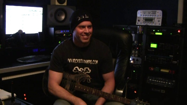 Steven Whitaker with Guitar