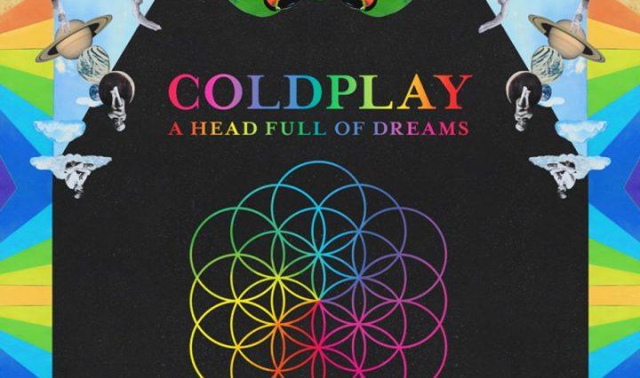 Coldplay A Head Full of Dream album cover