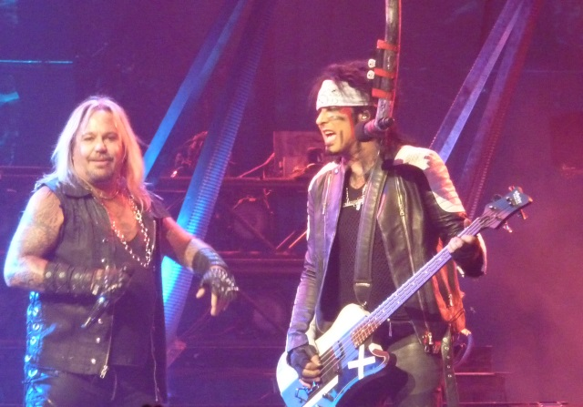 Vince Neil and Nikki Sixx of Motley Crue