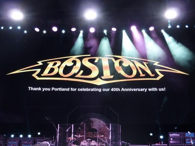 Boston 40th anniversary show in Portland, OR