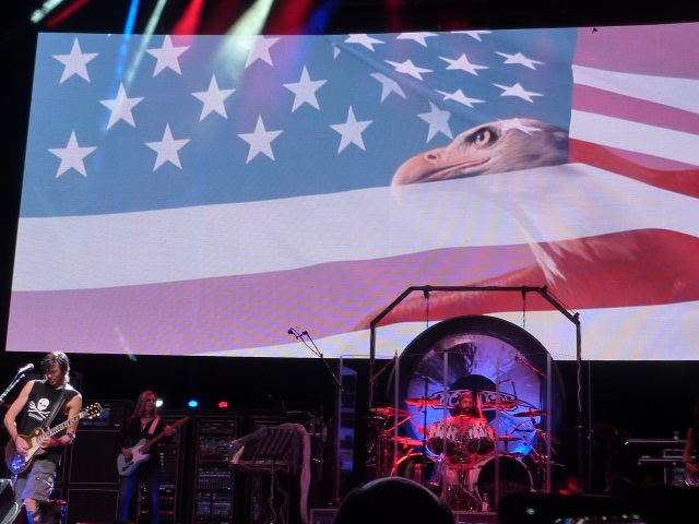 Boston (band) Star Spangled Banner