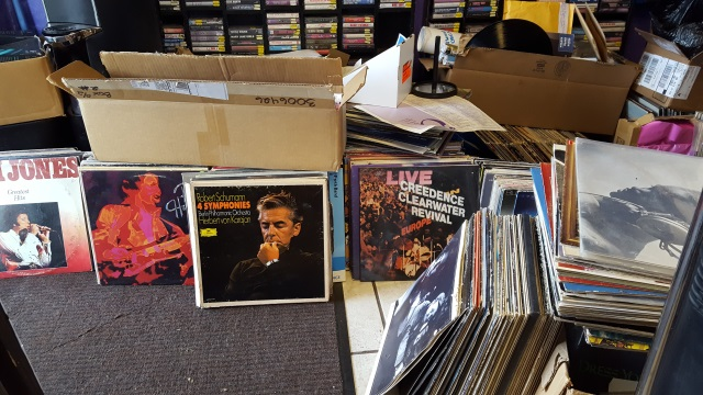 Harvest Music sells new and used records