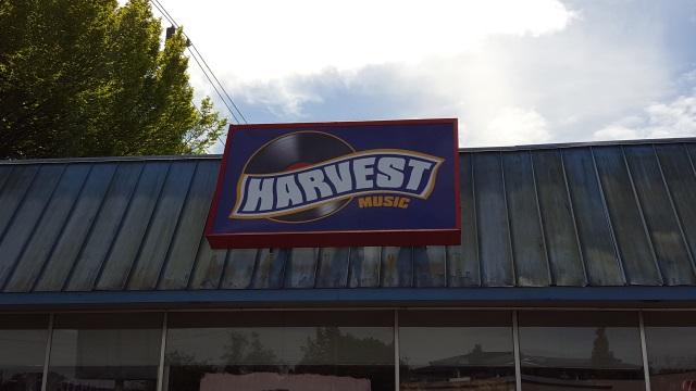 Record store in Salem, Oregon