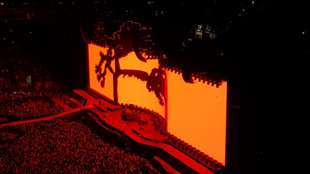 Photo of U2 in Seattle