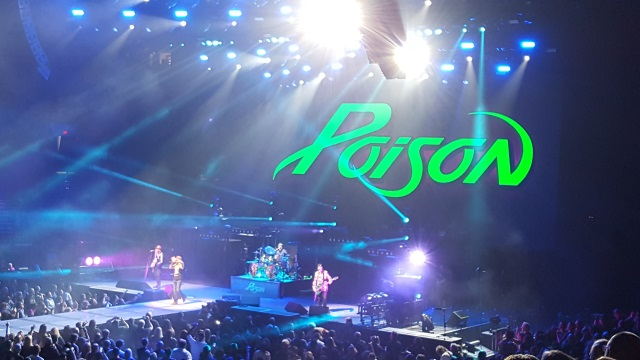 Bret Michaels and Poison in Portland