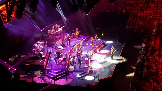 Stage Shot of Neil Diamond in Portland