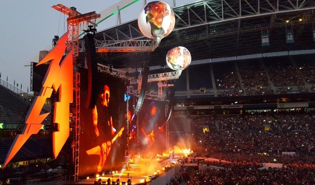 Metallica in Seattle