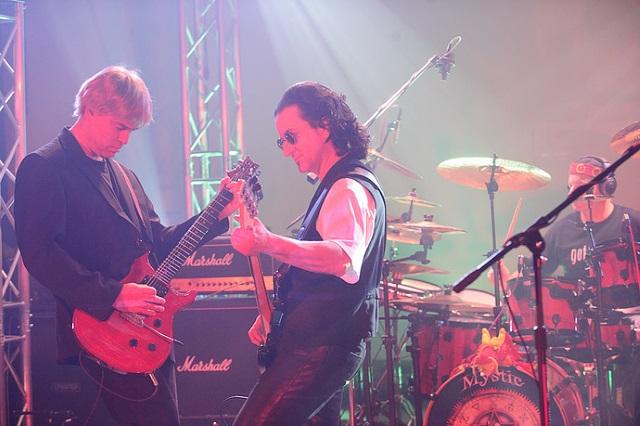 Steve Longo, Adam Pliss and Paul Armento of Mystic Rhythms
