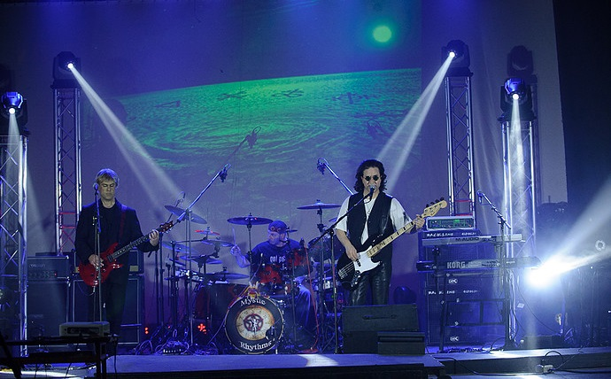 Rush Tribute band Mystic Rhythms