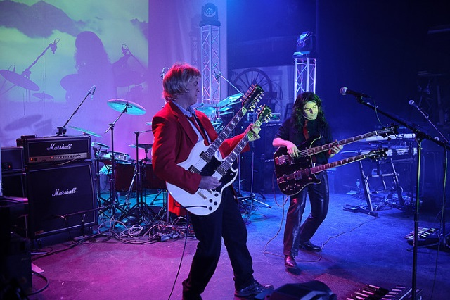 """Alex Lifeson"" and ""Geddy Lee"" of Mystic Rhythms"
