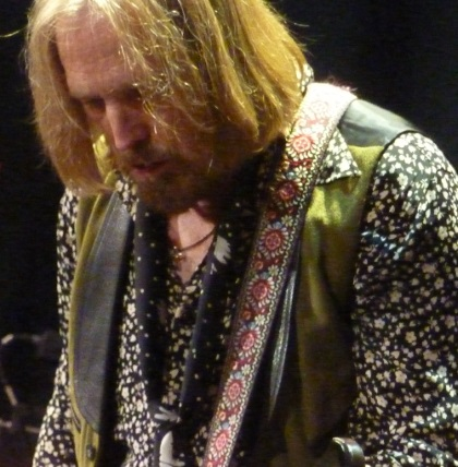 Close-up of Tom Petty in Portland