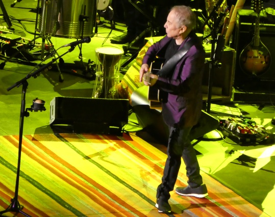 Paul SImon on tour in Portland