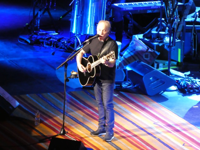 Paul SImon on Homeward Bound tour