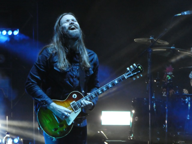 Bush guitarist Chris Traynor