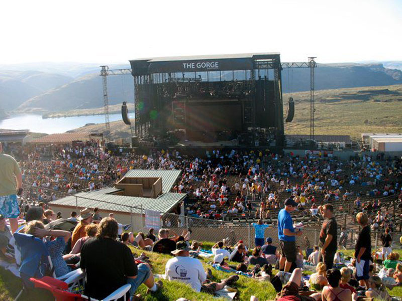 Rush at The Gorge