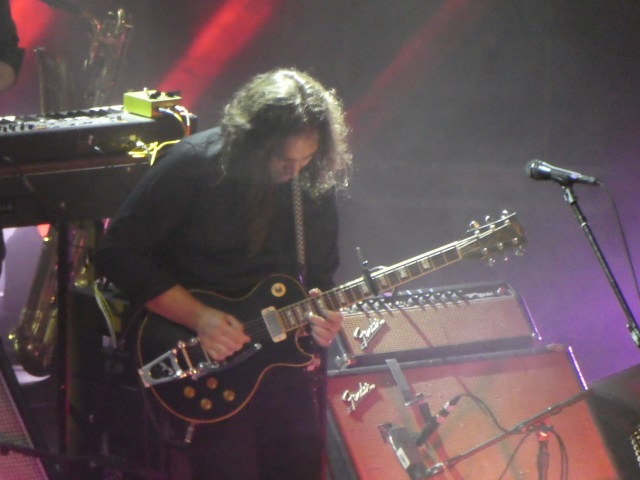 Singer and guityarist Adam Granduciel with War on Drugs
