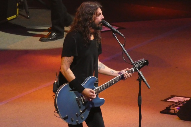 Dave Grohl with Foo Fighters