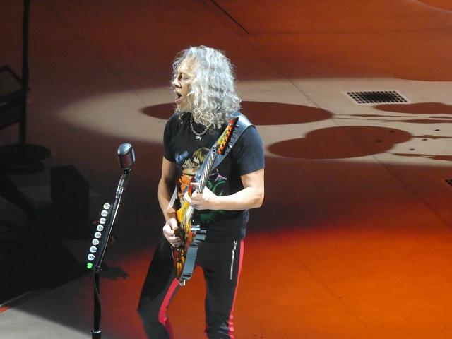 Guitarist Kirk Hammett of Metallica