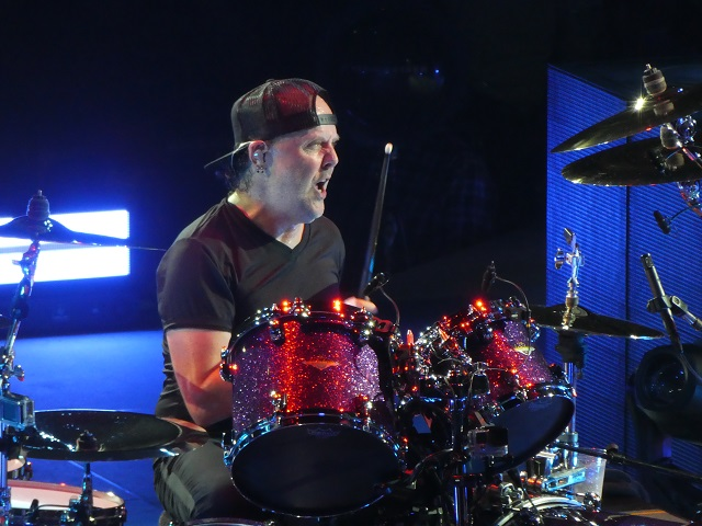 Drummer Lars Ulrich of Metallica