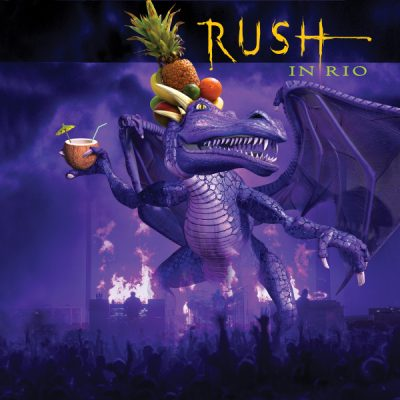 Album art for Rush In Rio