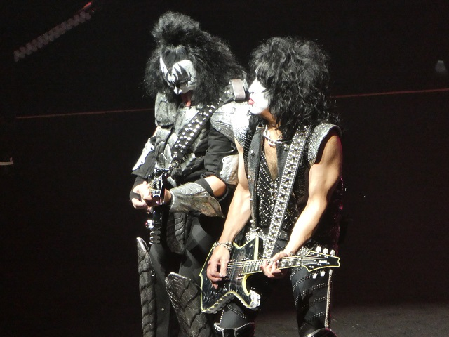KISS Gene Simmons and Paul Stanley