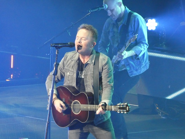 Chris Tomlin in Portland for Holy Roar tour.