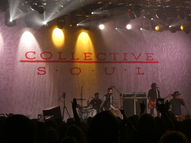 Collective Soul at Cowlitz Ballroom at Ilani Casino