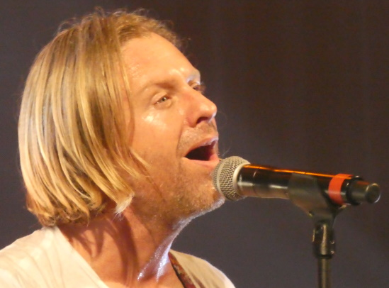 Singer jon Foreman of Switchfoot