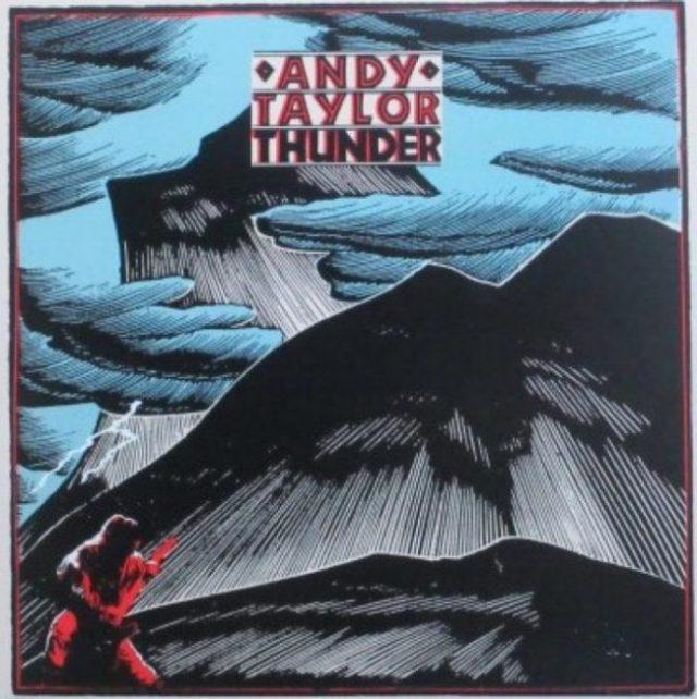 Andy Taylor Thunder Album Art