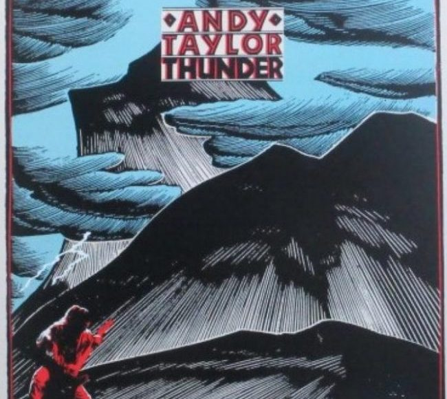 Andy Taylor Thunder Album Art