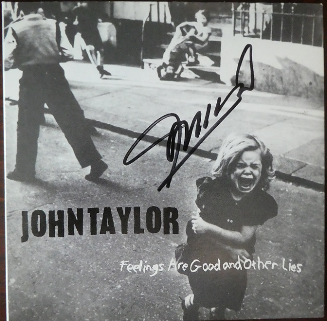 Album cover for John Taylor Feelings are God and Other Lies