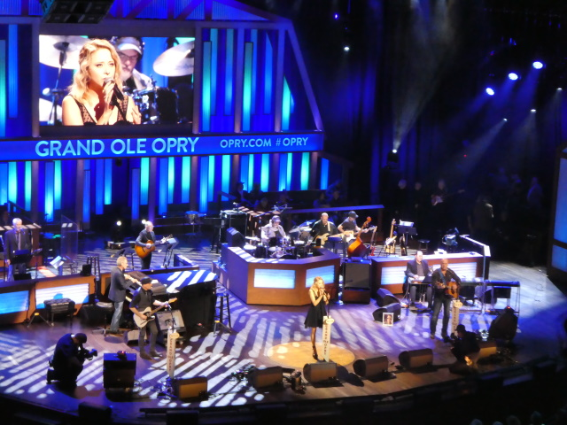 Stage view of Kalie Shorr at Grand Ole Opry