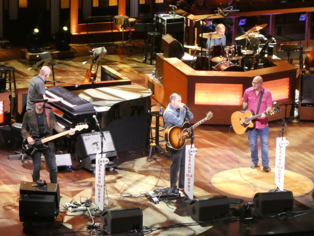 Sister Hazel on stage at the Grand Ole Opry