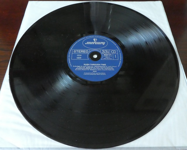 Vinyl Record from Rush Through Time