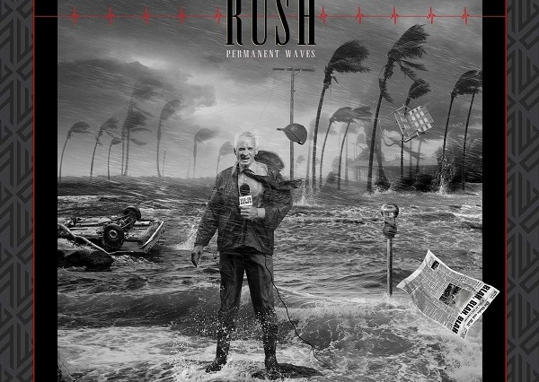 Album artwork for Rush Permanent Waves 40th Anniversary