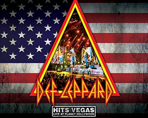Def Leppard Hits Vegas Live Album artwork