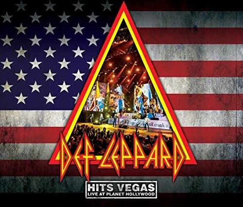 Def Leppard Hits Vegas Live Album artwork